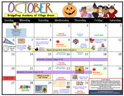 Check out our October Calendar